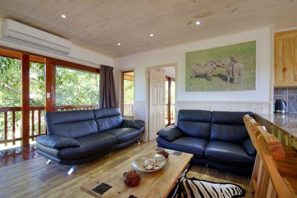 Luxe huisje - Woonruimte