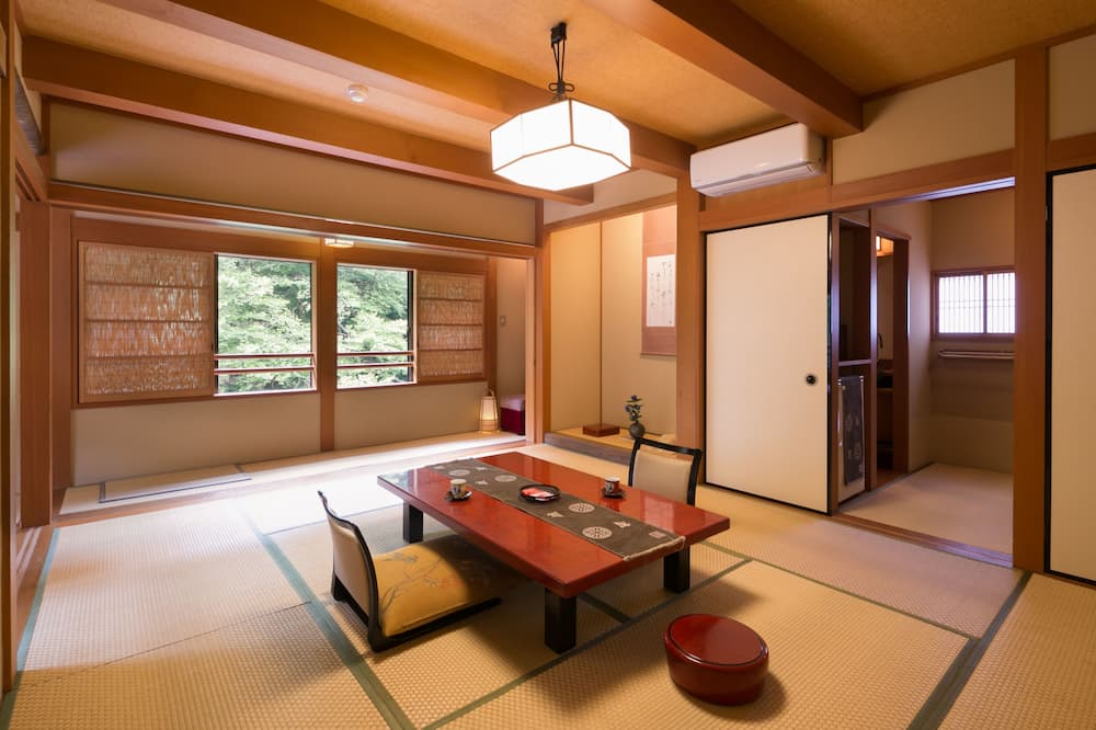 Pokój tradycyjny, widok na rzekę (Standard Japanese Style) - Powierzchnia mieszkalna