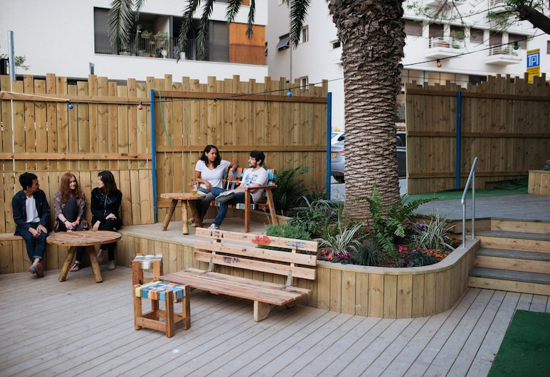 Abraham Hostel Tel-Aviv, Tel Aviv, Terrace/Patio