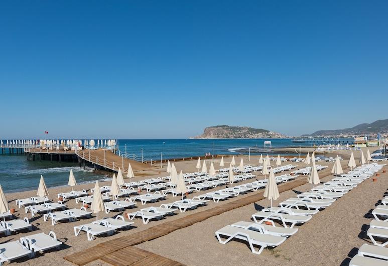 Asia Beach Resort & Spa Hotel, Alanya, Playa