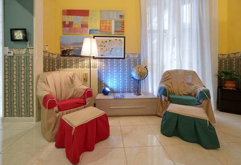Geraci Suite Apartment, Napoli, Appartamento, Area soggiorno