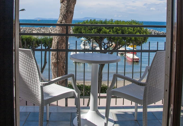 Sea Breeze Residence, Massa Lubrense, Habitación superior, vista al mar, Balcón