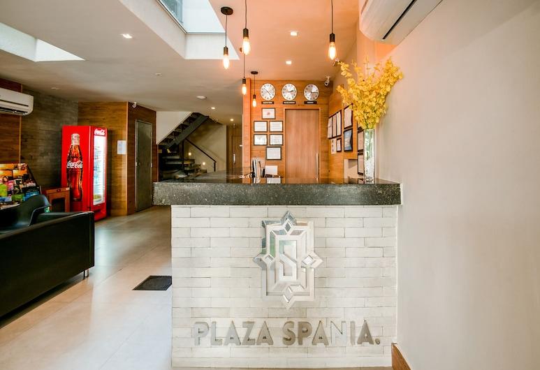 Hotel Plaza Spania, Rio de Janeiro, Recepció