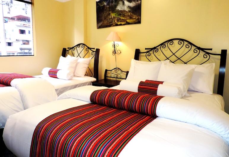 Intillaqta MachuPicchu Pueblo, Machu Picchu, Chambre avec lits jumeaux, Chambre