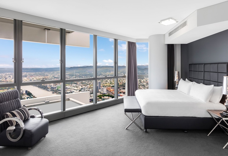 Meriton Suites Herschel Street, Brisbane, Brisbane, 3 Bedroom South Bank Penthouse, Room