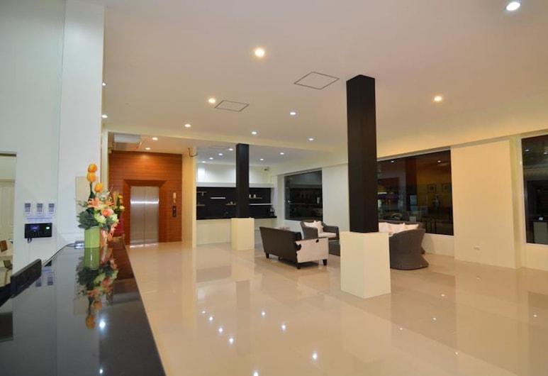 Issara Na Nakhon Living Hotel,  Nakhon Si Thammarat, Prostor za sjedenje u predvorju