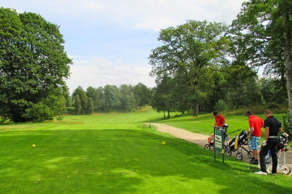 Näköala golfkentälle