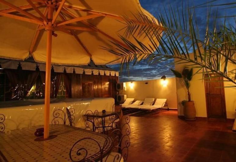 里亞德莫嘉娜庭院旅館, 馬拉喀什, 陽台