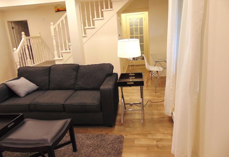 The Elizabeth Manor Guesthouse, St. John's, Suite Comfort, 1 camera da letto, Area soggiorno