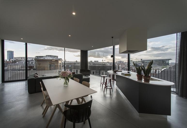 Michael's Residence, BRUSEL, Apartmán, 2 spálne, rohová izba, Obývacie priestory