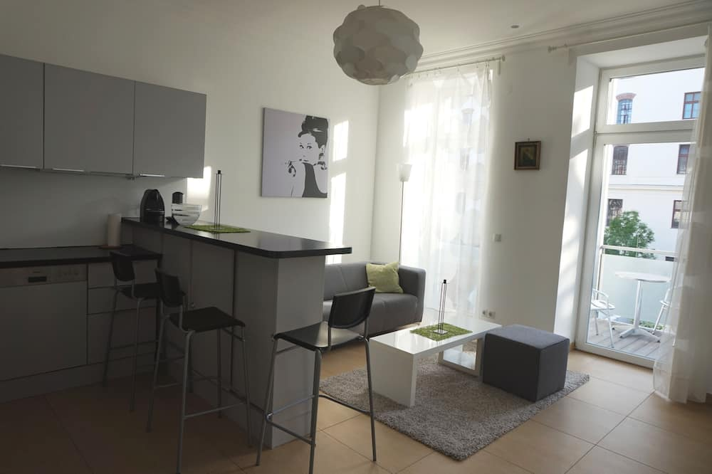 套房 (Wimmergasse 29, 1050 Wien) - 客廳