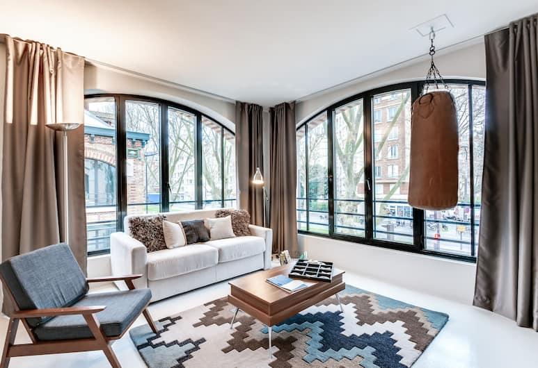 Sweet inn Apartments Versailles-Paris Expo, Pariis, Külaliskorter, Tuba