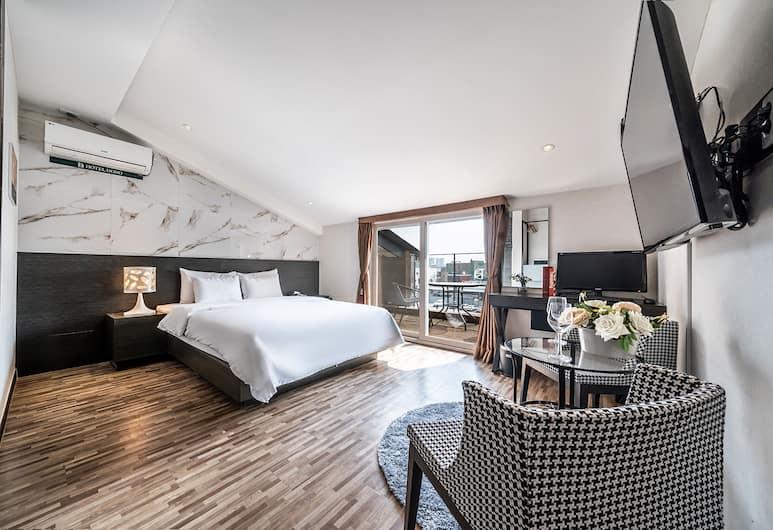 Suwon Dono1796 Hotel , Suwon, Design Suite, 1 Queen Bed, Non Smoking, Garden View, Guest Room