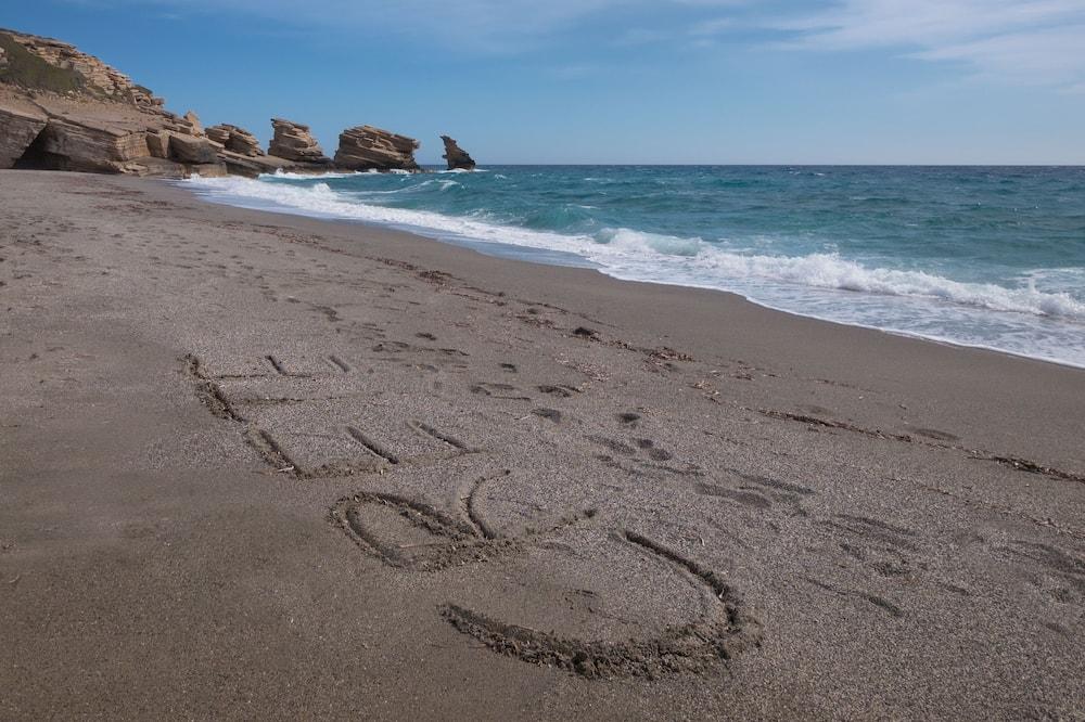別墅, 2 間臥室, 私人泳池, 海景 (Nikos) - 海灘