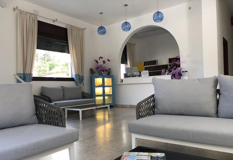 فندق ريفييرا, ألجيرو, منطقة الجلوس في الردهة