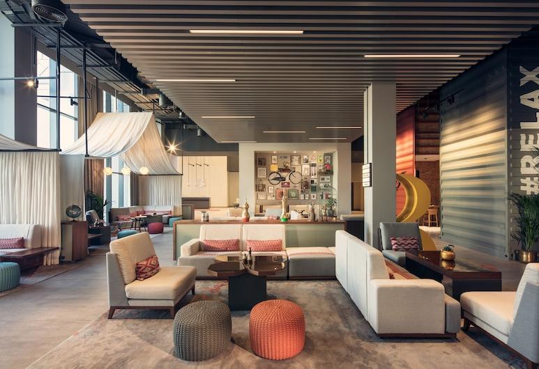 Rove Downtown Dubai, Dubai, Lobby Sitting Area