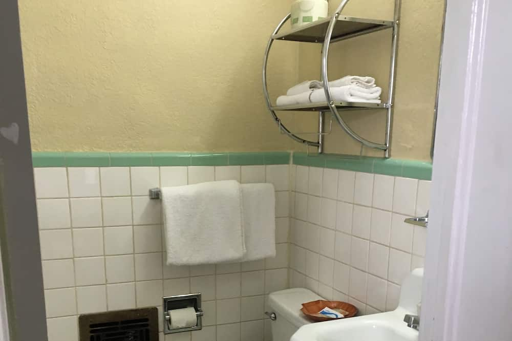 Standaard kamer, 1 kingsize bed, roken - Badkamer