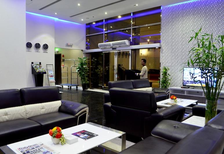President Heights, Manama, Sala de estar en el lobby