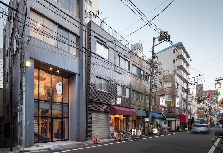 ICHINICHI - Hostel, Tokijas, Įėjimas į viešbutį