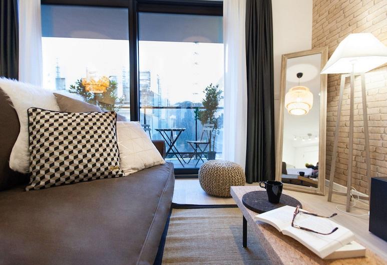 Sweet Inn Apartments Belliard, BRUSEL, Apartmán, 1 spálňa (II - 162, rue Belliard), Obývačka
