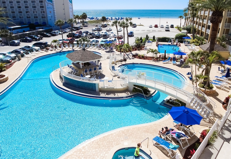 Coral Reef Beach Resort, a VRI resort, St. Pete Beach, Basen