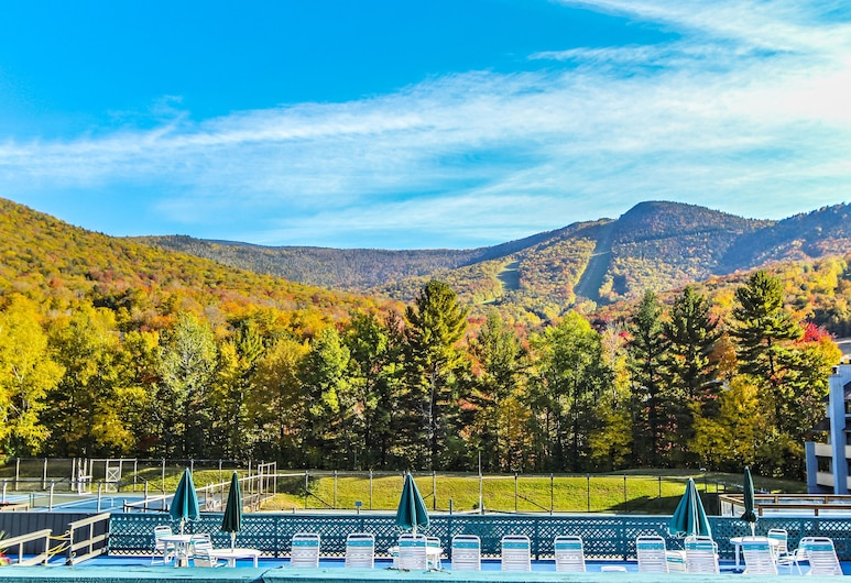 The Village of Loon Mountain, a VRI resort, Lincoln, Bergblick