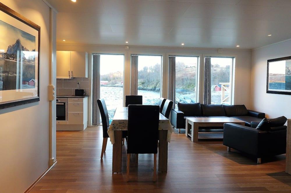Departamento, 3 habitaciones, vista al mar - Sala de estar