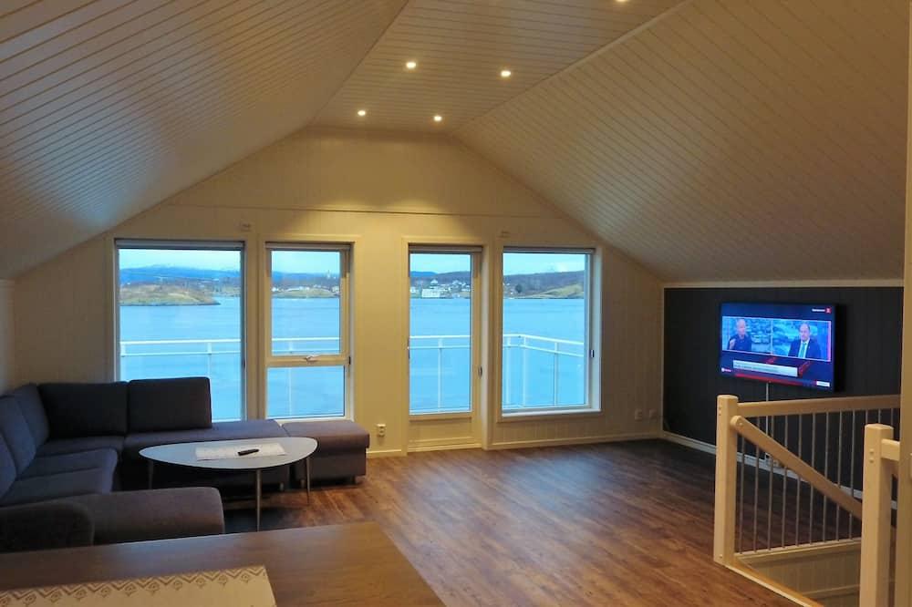 Departamento, 4 habitaciones, vista al mar - Sala de estar