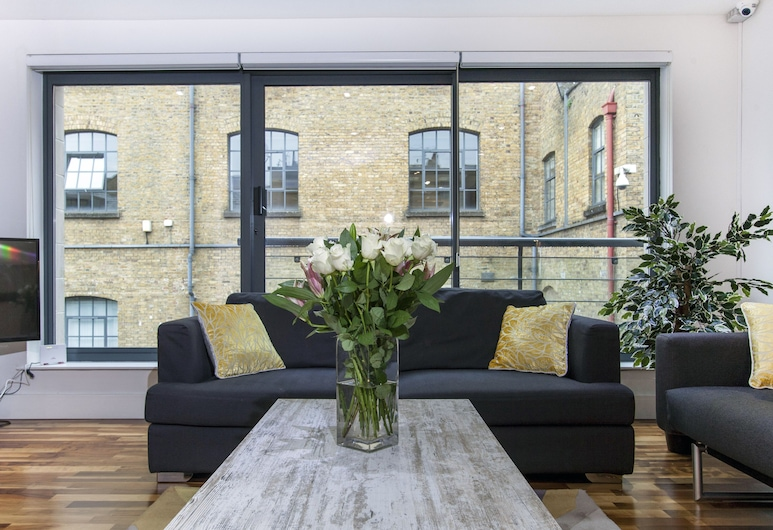 Club Living - Camden Town Apartments, Londen, Signature appartement, 2 slaapkamers, Woonkamer
