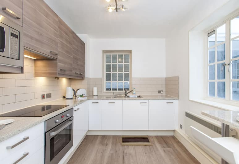 Club Living - Liverpool St. Apartments, London, Classic Apartment, 1 Bedroom, Private Bathroom ( First Floor), Private kitchen