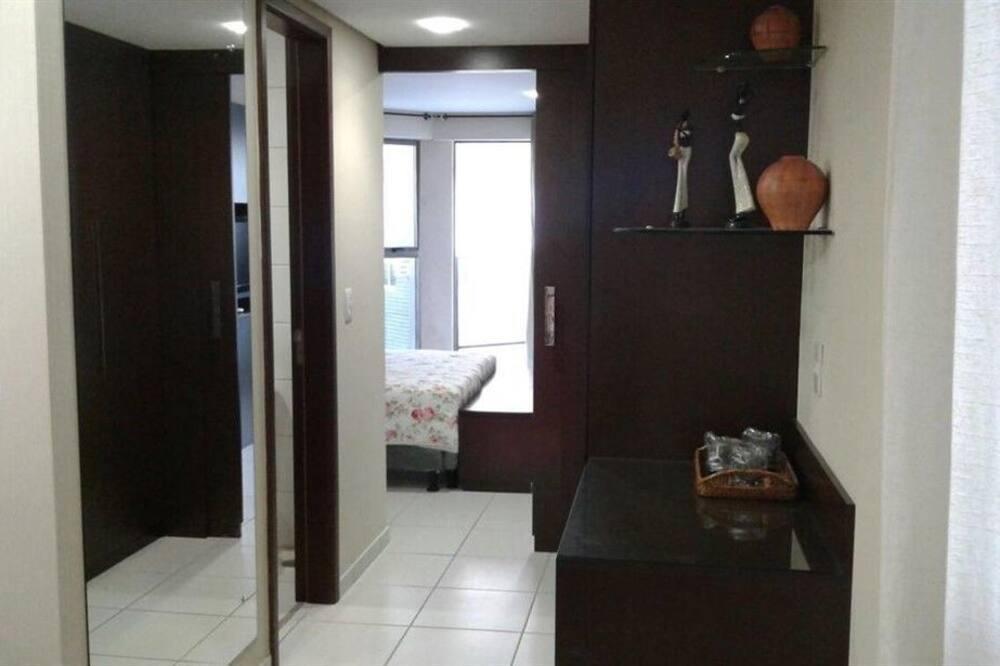غرفة ديلوكس مزدوجة - بمنظر للبحر (Avenida Boa Viagem 420) - حمّام