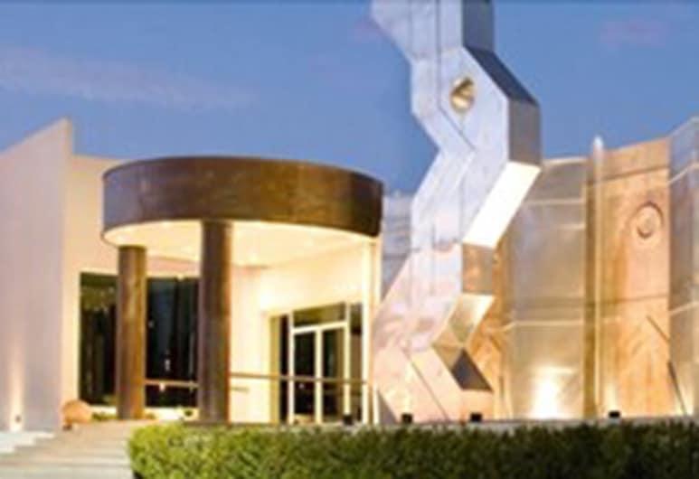 هوتل بوزادا سينيوريال, سان أندريس تشولولا, مدخل الفندق