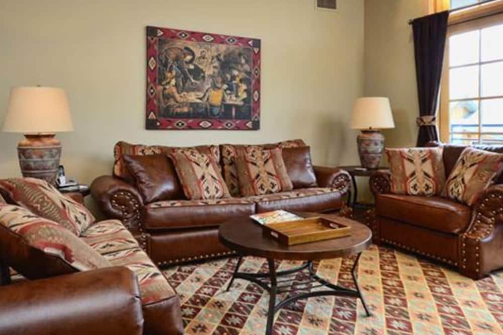 Lägenhet - 2 sovrum - badkar (Alpenglow Condominiums - ALP2D) - Vardagsrum
