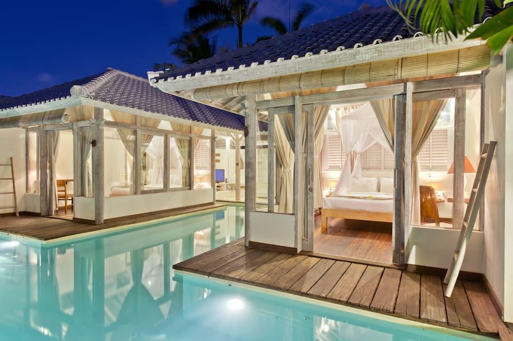 別墅, 2 間臥室, 私人泳池 - 室外游泳池