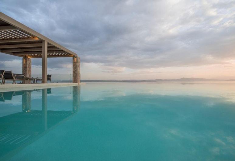 Elimnion Resort, Mantoudi-Limni-Agia Anna, Piscina al aire libre