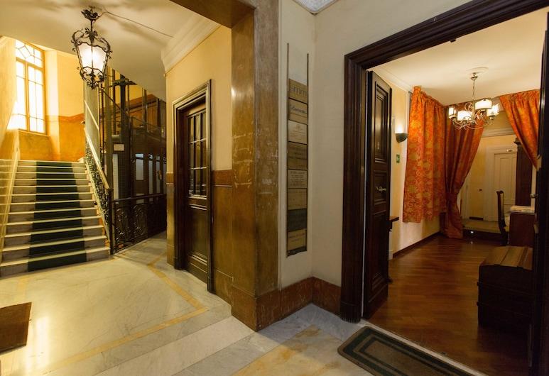 迪西歐家園酒店, 羅馬, 酒店入口