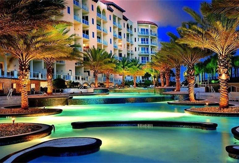Diamond Beach 415 - St Tropez Beach 2 Bedroom Condo, Galveston, Apartamento em Condomínio Fechado, 2 Quartos, Piscina