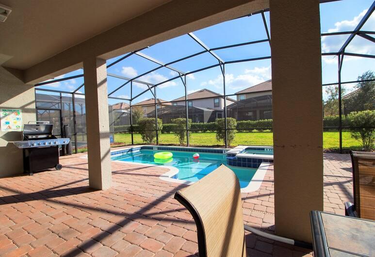 Champions Gate Resort, Davenport, Dom, Taras/patio
