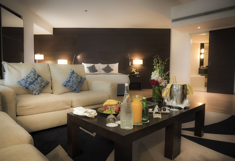 Asdal Gulf Inn Boutique Hotel Seef, Manama, Suite superior (Avenue), Habitación