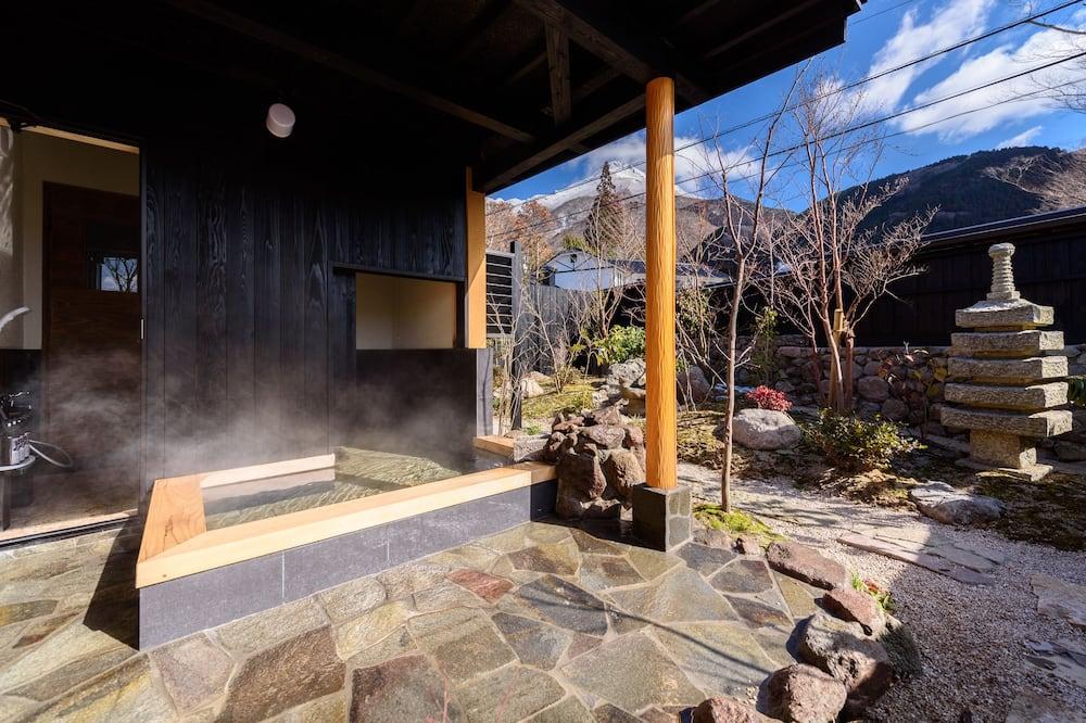 Special Japanese Room Sakura with Open-air-bath, Non Smoking - Outdoor Spa Tub
