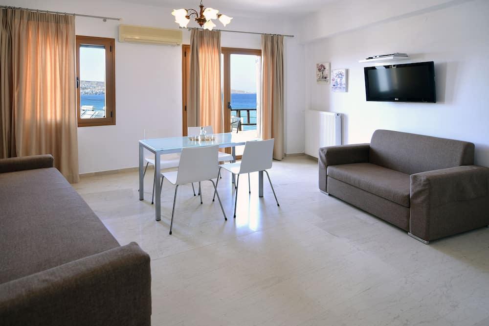 Executive külaliskorter, 1 magamistoaga, vaade merele - Tuba