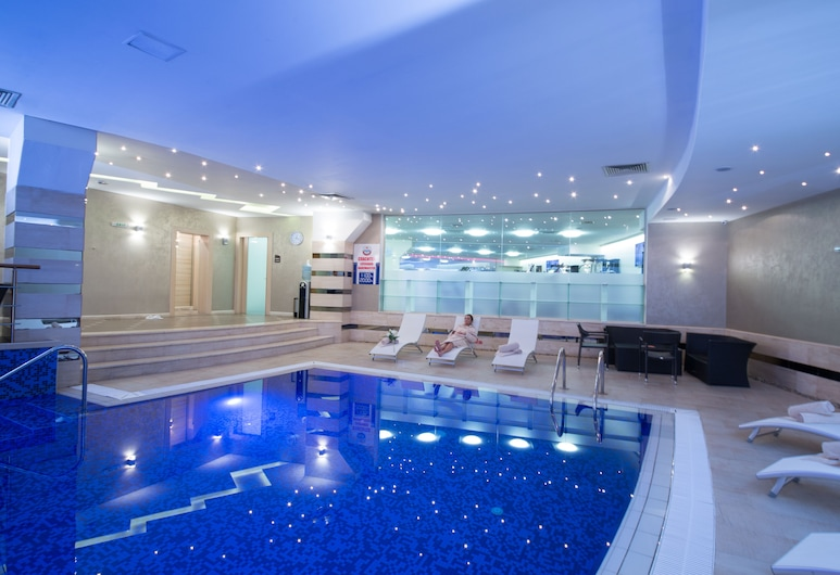 Rosslyn Dimyat Hotel Varna, Varna, Piscina cubierta