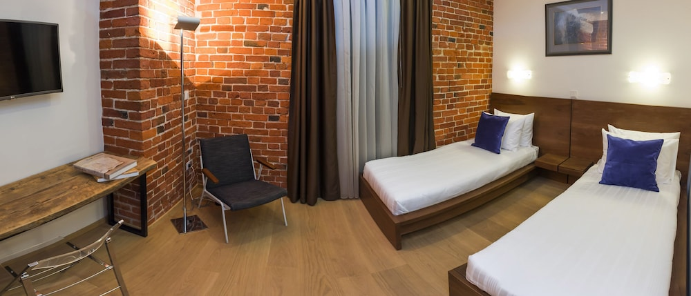 brick design hotel moscow superior twin room guest room