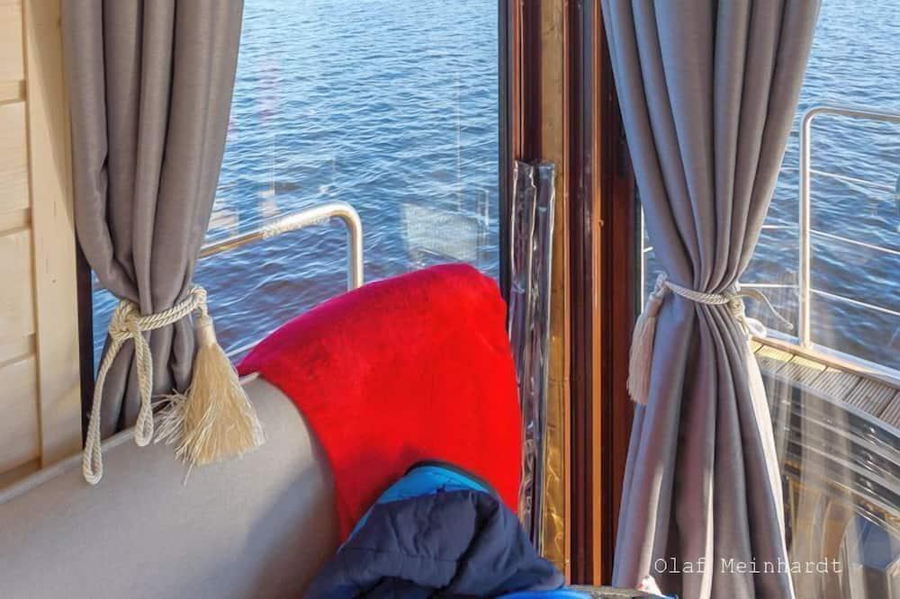 Appartamento Classic, 1 letto matrimoniale, vista lago, lato lago - Area soggiorno
