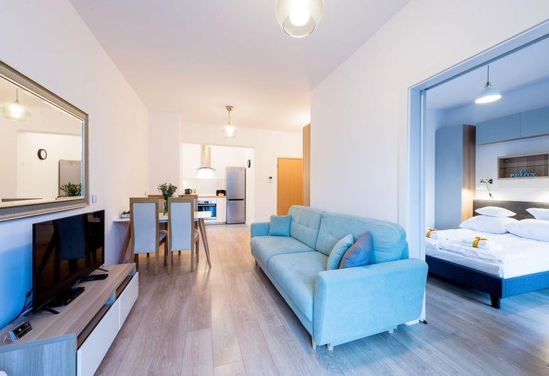 GO Apartments, Warsaw, Superior Apartment, Living Area