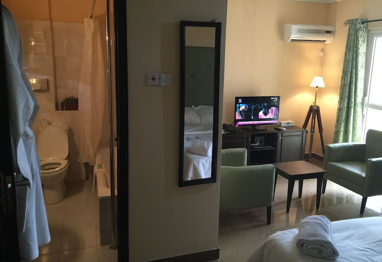 羅斯堡飯店, 拉各斯, 奢華套房, 客房