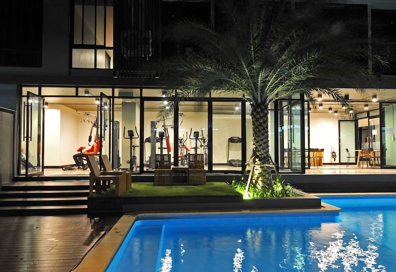 Grand Marina Residence, Si Racha, Outdoor Pool