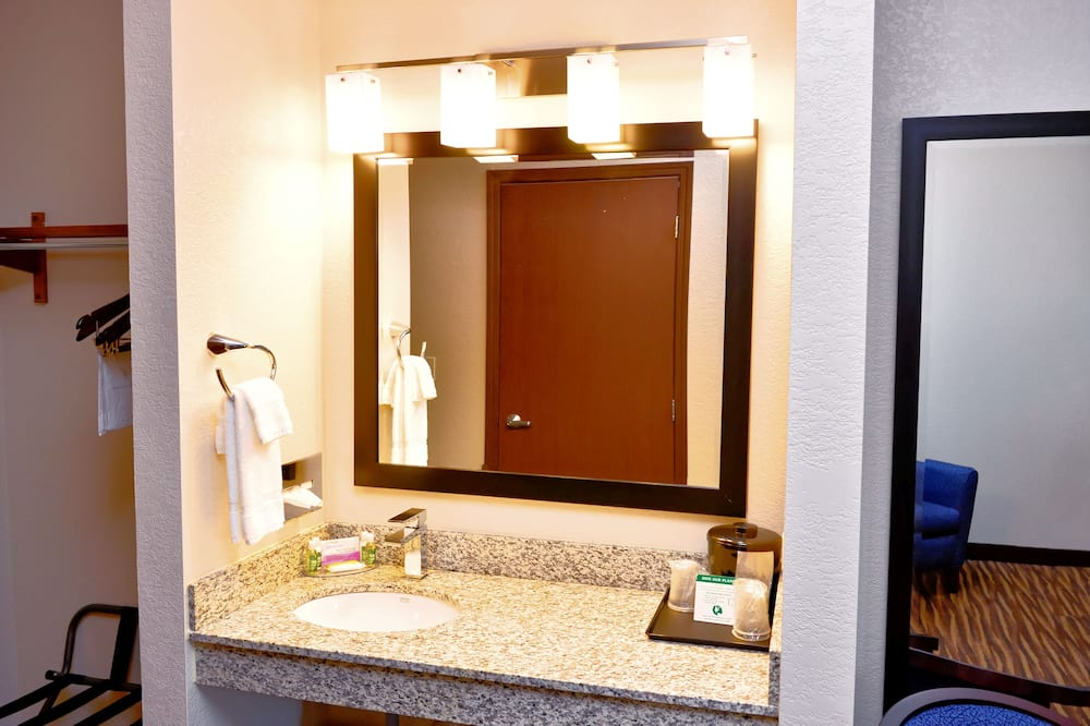 Habitación, 2 camas Queen size, para no fumadores - Lavabo en el baño