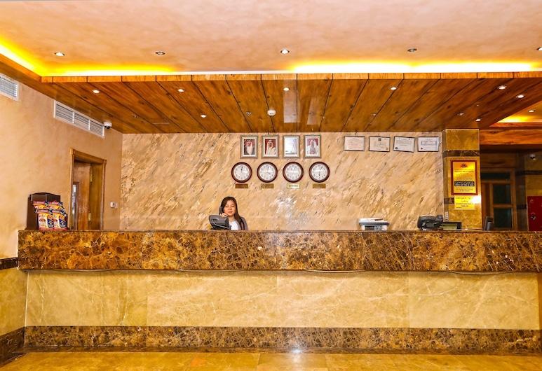 OYO 102 Sea Shell Hotel, Manama, Quầy tiếp tân