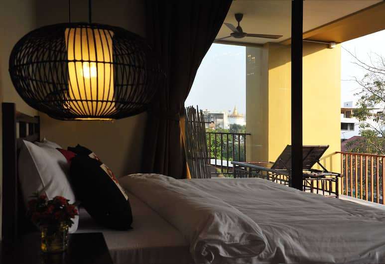 ヴィラ プラ スメン バンコク, バンコク, Phra Sumen Suite, 客室